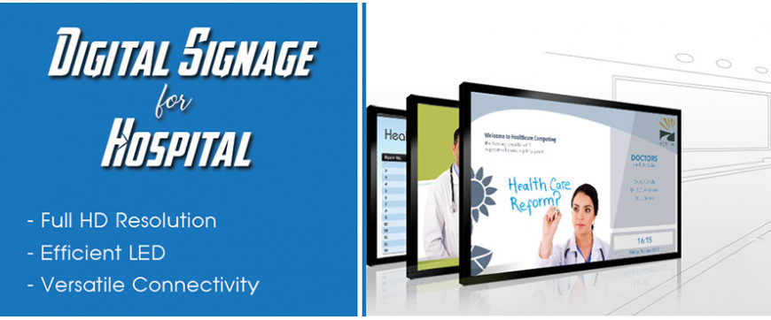 Giải pháp Digital Signage cho y tế
